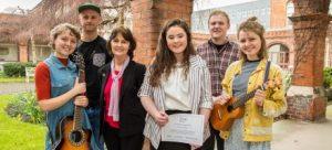 DCU Arts Bursary recipients 2017/18