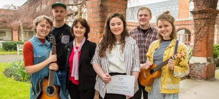 DCU Arts Bursary recipients 2017/18