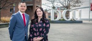 New DCU Educational Trust Team Members Jason Sherlock and Tara Byrne