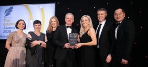 DCU Access to the Workplace wins Best Business and Third Level Institution Collaboration at the 2020 Education Awards
